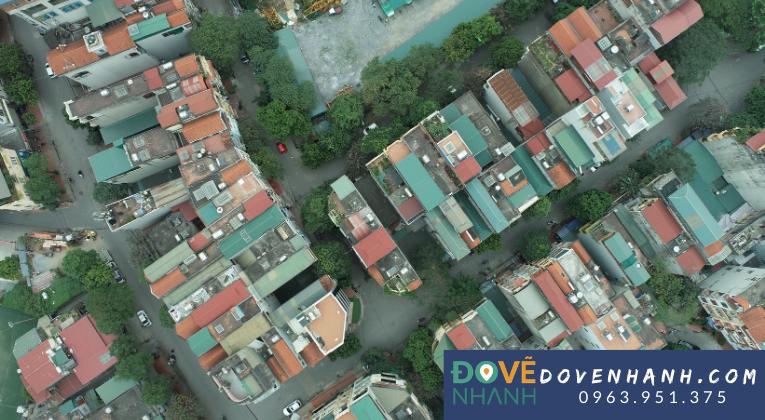 bay chụp ảnh bằng drone phục vụ giám sát đô thị