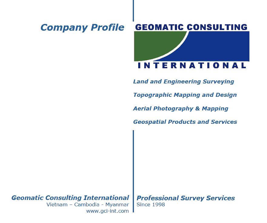 GCI tuyển dụng kỹ sư trắc địa