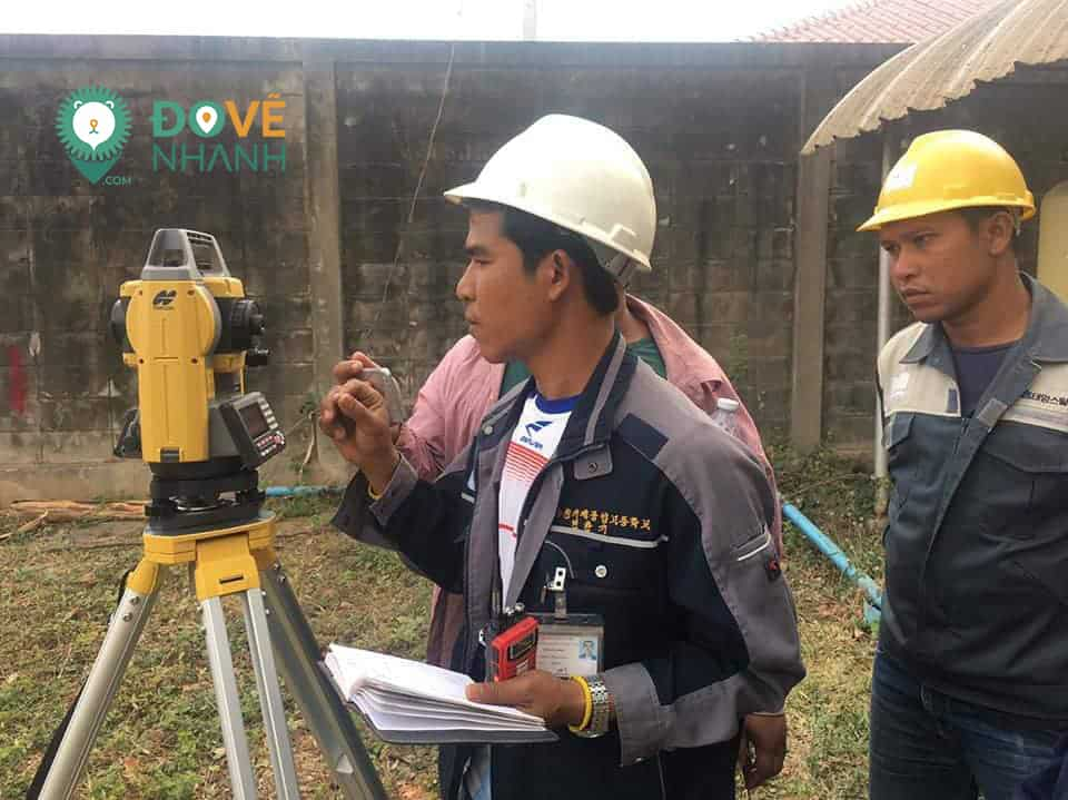 mẫu báo cáo giám sát khảo sát địa hình