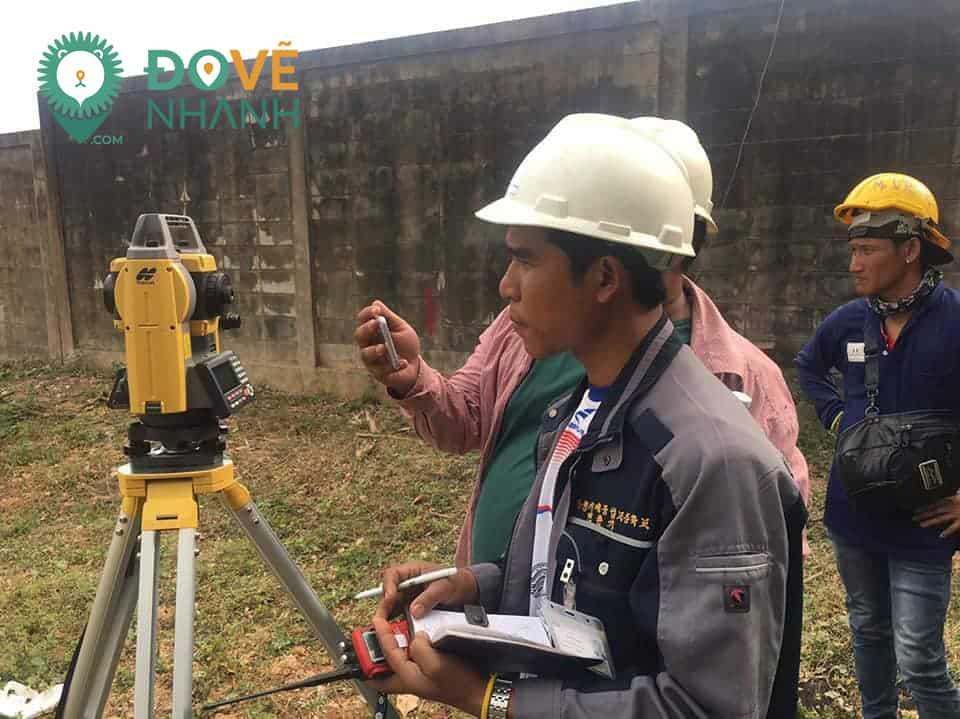 báo cáo giám sát khảo sát địa hình
