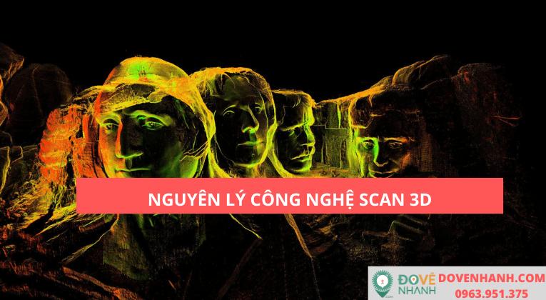 Nguyên lý công nghệ scan 3D