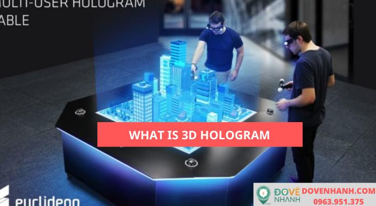 Công nghệ 3D Hologram là gì