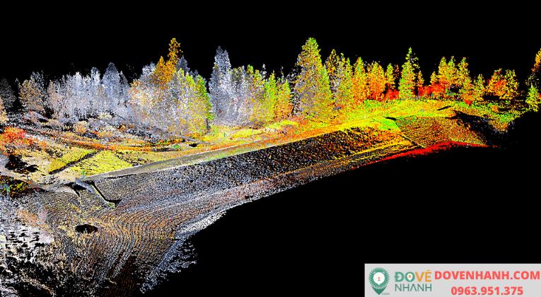 Giải pháp cho khảo sát địa hình ứng dụng 3D laser scanning