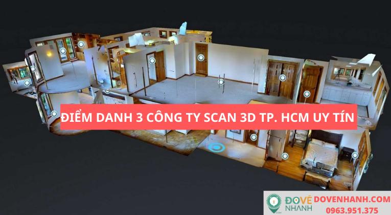 Điểm danh 3 công ty scan 3D Tp. HCM uy tín