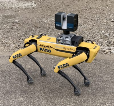 FARO Launches Trek, the Automated 3D Laser Scanning Integration with Boston Dynamics Spot Mobile Robot