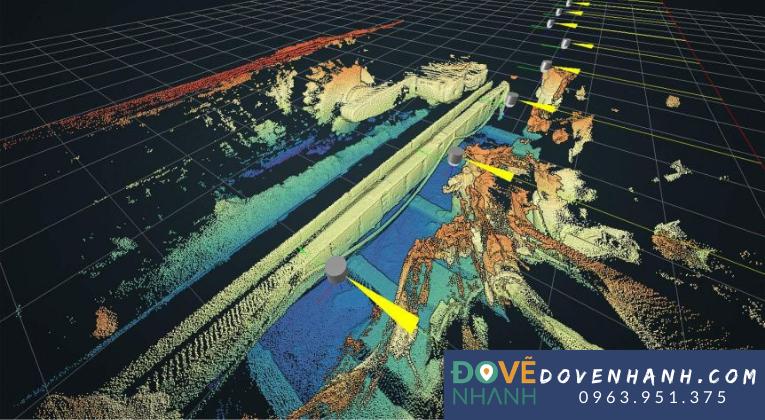 Ứng dụng của công nghệ 3D laser scanning trong khai thác khoáng sản