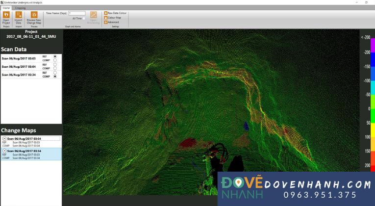 3D laser scanning trong khai thác khoáng sản 1