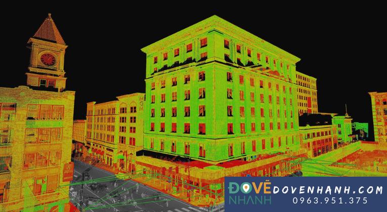 Công nghệ 3D laser scanning có ưu điểm gì?
