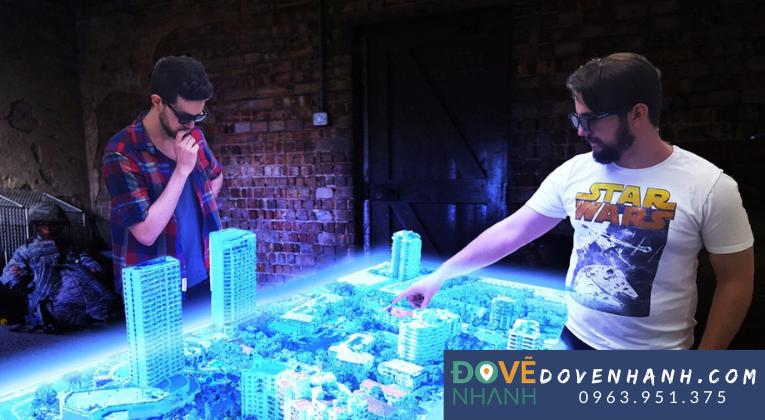 Công nghệ 3D hologram trong lãnh vực quảng cáo
