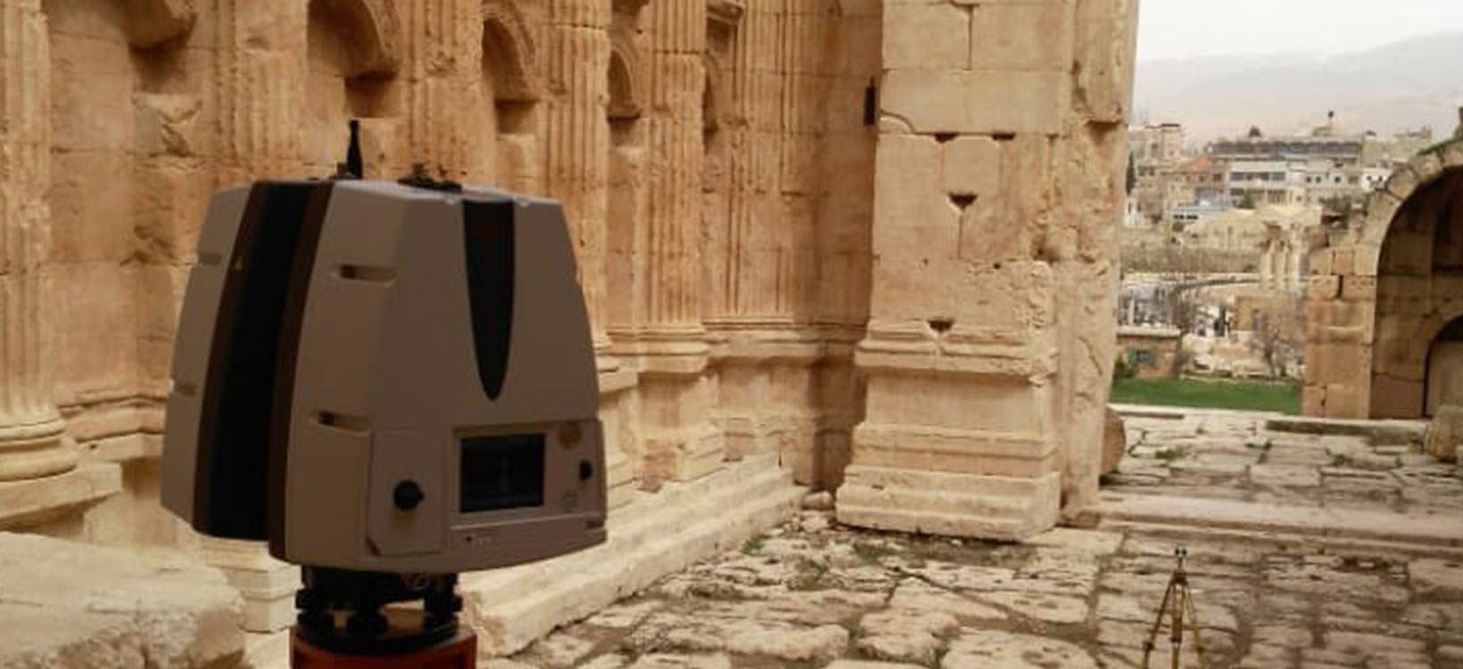 Ứng dụng 3D scanning vào bảo tồn di tích