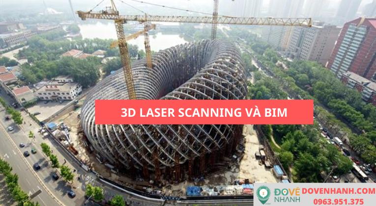 Ứng dụng 3D laser scanning trong quản lý thông tin tòa nhà