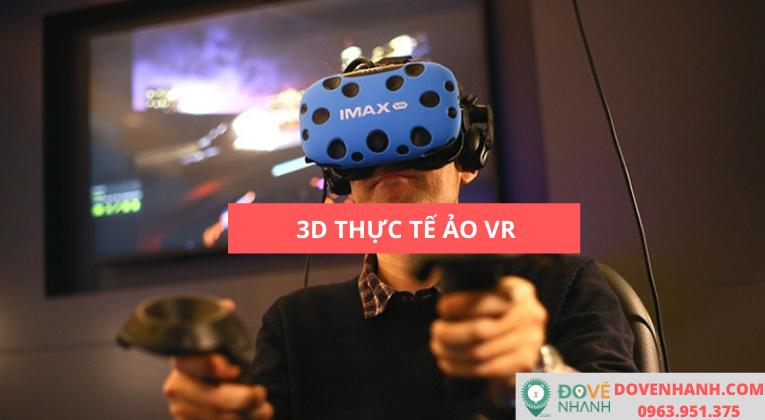 Công nghệ 3D thực tế ảo là gì?