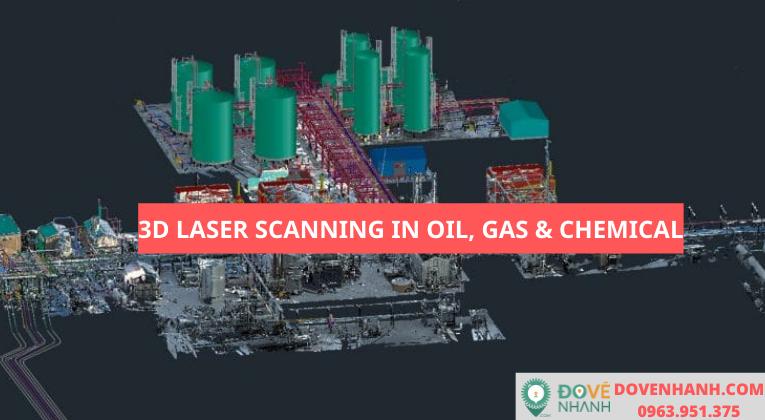 Ứng dụng 3D laser scanning trong ngành dầu khí