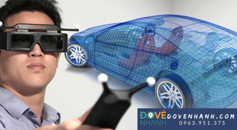 Ứng dụng công nghệ 3D thực tế ảo vào thực tế
