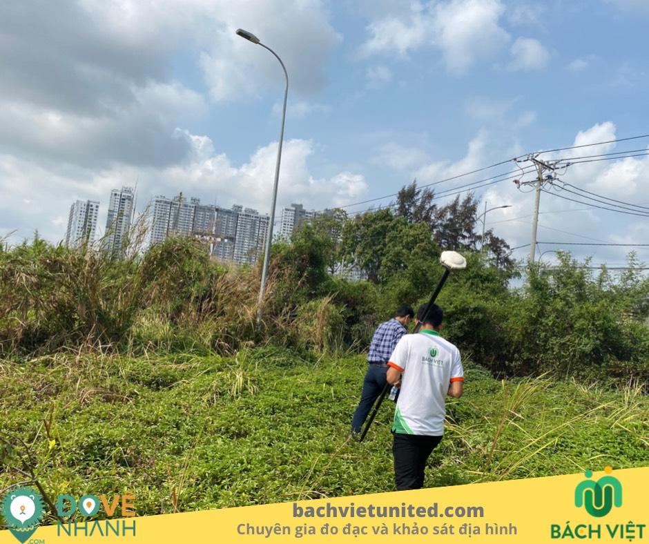 Đo đạc hiện trạng ranh đất Công ty CARIC quận 7