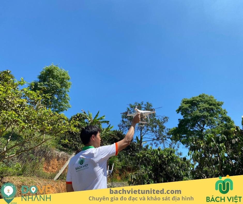 Khảo sát địa hình và bay chụp 3D bằng DRONE tại Bảo Lộc Lâm Đồng
