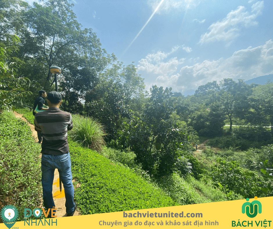 Khảo sát địa hình Tà Pứa Mê Pu Đức Linh Bình Thuận và bay chụp UAV 3
