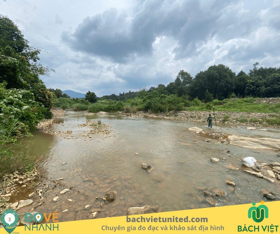 Khảo sát địa hình 1/500 tại xã Hạ Lâm huyện Đạ Huoai, tỉnh Lâm Đồng