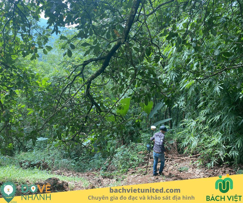 Khảo sát địa hình Tà :Pứa Mê Pu Đức Linh Bình Thuận và bay chụp UAV