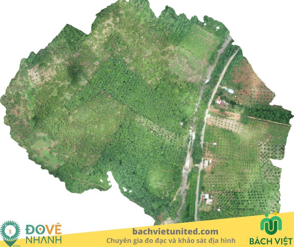 Khảo sát địa hình Tà Pứa Mê Pu Đức Linh Bình Thuận và bay chụp UAV