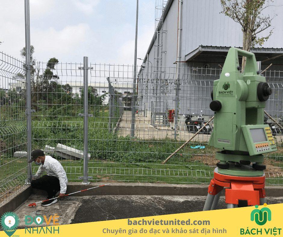 Đo đạc hoàn công nhà máy sản xuất nước sạch SAMIN quận 7 3