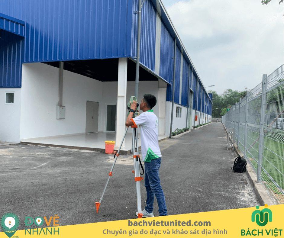 Đo đạc hoàn công nhà máy sản xuất nước sạch SAMIN quận 7 4