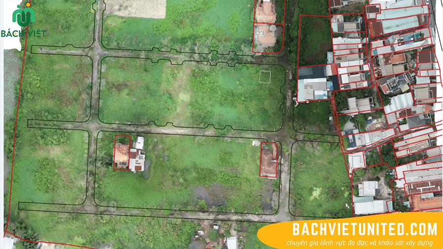 Khảo sát Flycam cung cấp ảnh phục vụ sơ họa địa chính