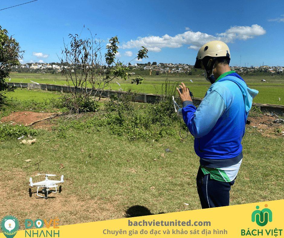 Khảo sát địa hình Di Linh Lâm Đồng bằng UAV
