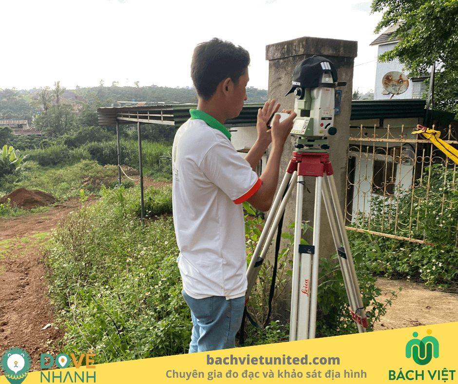 Khảo sát địa hình 1/500 Dambri Bảo Lộc Lâm Đồng