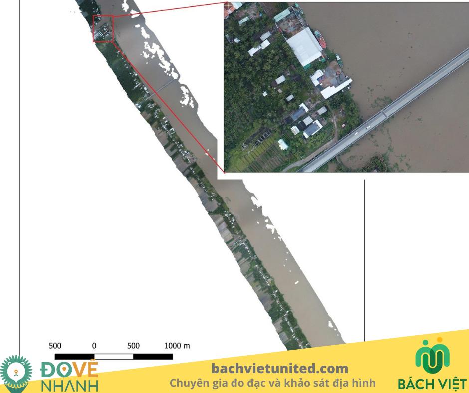 Khảo sát hiện trạng Cống Cái Lớn,Cái Bé, Kiên Giang bằng UAV