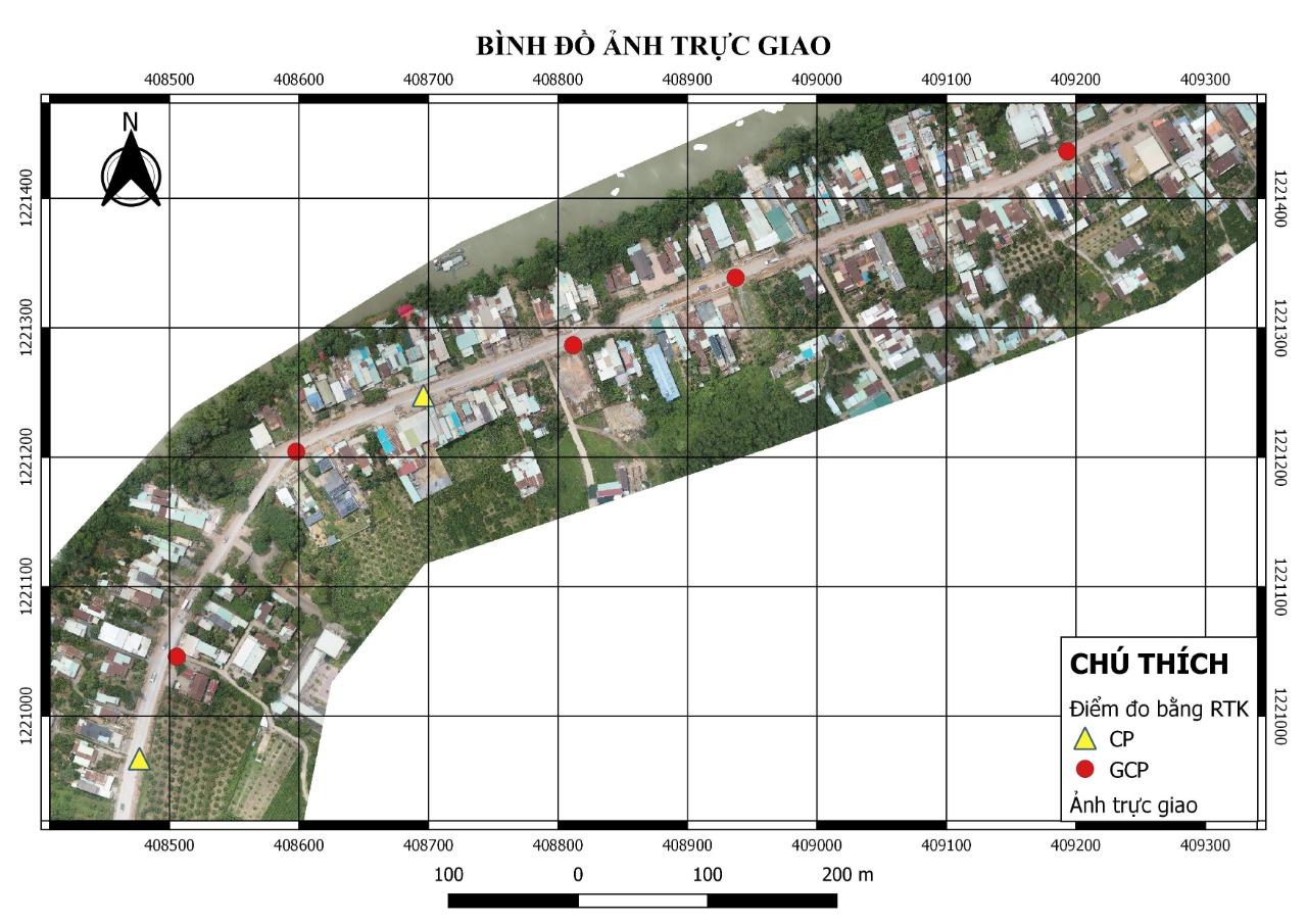 kết quả Khảo sát địa hình tuyến đường bằng Flycam ở Đồng Nai