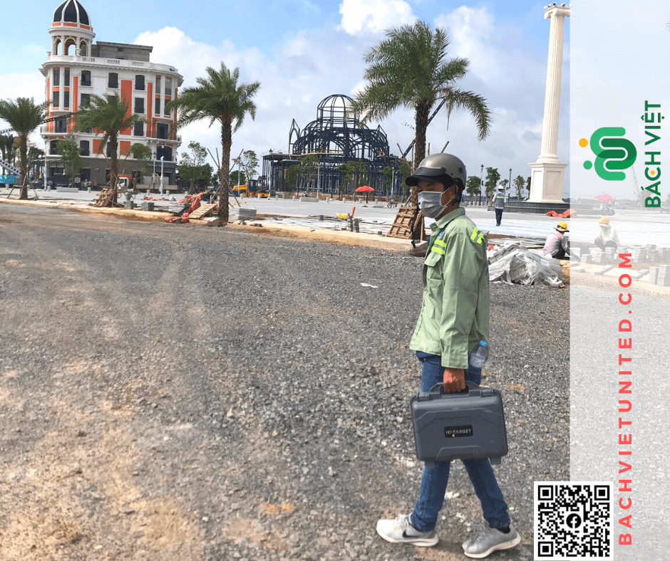 Đo đạc xác định vị trí ranh đất Đồng Nai Aqua City