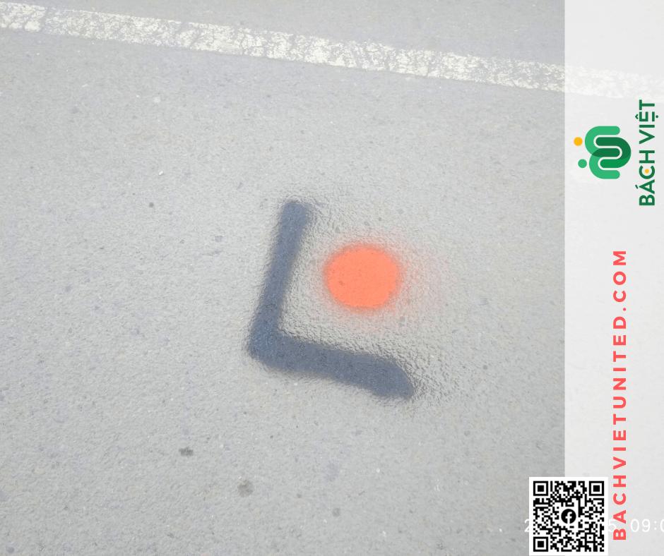 Điểm kiểm soát mặt đất GCP trong khảo sát địa hình dọc tuyến UAV