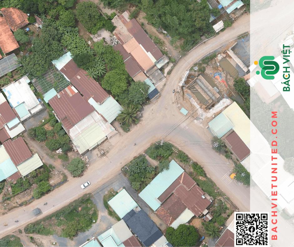 Khảo sát địa hình tuyến đường bằng Flycam ở Đồng Nai