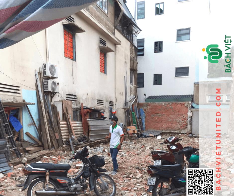 Đo đạc hiện trạng nhà đất quận Bình Thạnh phục vụ xin phép xây dựng