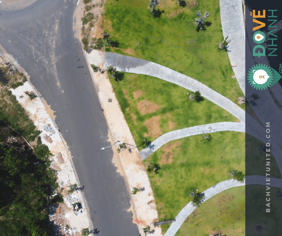 Khảo sát địa hình dọc tuyến tại Phú Yên bằng UAV