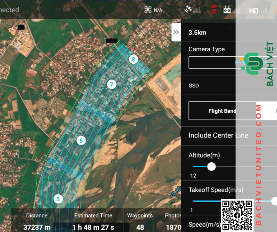 Khảo sát địa hình Phú Yên bằng Flycam