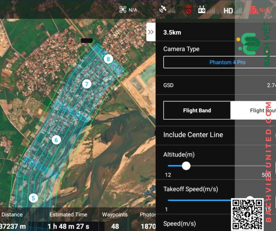 Ứng dụng UAV trong công ty khảo sát địa hình